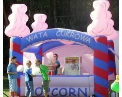 Wata cukrowa Popcorn