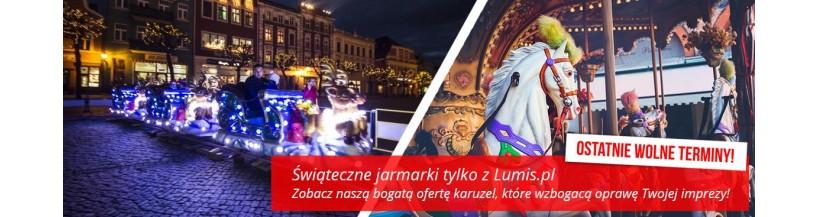 Świąteczne zestawy karuzel do wynajęcia - Lumis.pl
